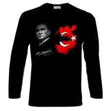 Mustafa Kemal Atatürk Türkei Türkiye Turkey Long Sleeve T-Shirt