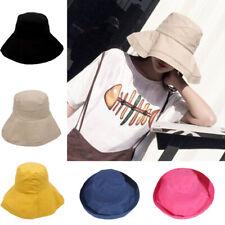 Women Wide Brim Sun Hat Casual Outdoor Summer Beach Sunscreen Cap Fisherman Hat