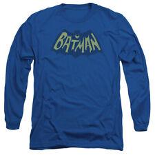Batman Show Bat Logo Mens Long Sleeve Shirt