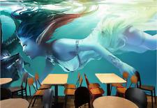 3D Beauty Wizard Sea 7 Wall Paper Murals Wall Print Wall Wallpaper Mural AU Kyra