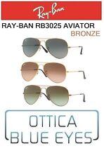 Occhiali da Sole RAYBAN RB3025 AVIATOR BRONZE Sunglasses Ray Ban GOCCIA GAFAS