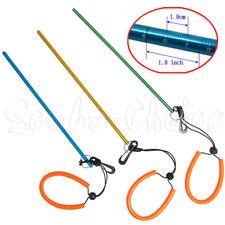 "Scuba Diving 13"" Aluminum Lobster Tickle Pointer Stick w/ Measurement & Lanyard"