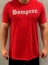 Bompton T-shirt, High Quality Men's Ultra Soft Next Level, New, Compton Bloods
