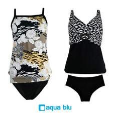Ladies AQUA BLU Tankini Swimwear  - Assorted Styles Sizes & Colours - 2