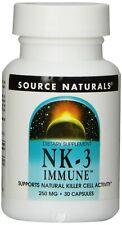 Source Naturals NK-3 Immune with Vitamin C 250mg, 30 Capsules