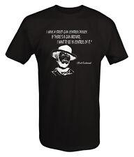 Clint Eastwood Dirty Harry Gun Control Movie T shirt