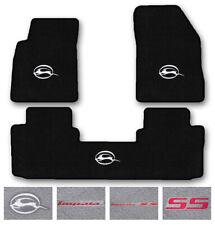 3pc Carpet Floor Mat Set for 2014-2017 Chevrolet Impala - Choose Logo & Color