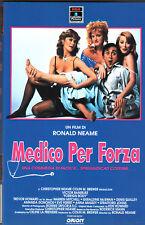 Medico per forza (1986) VHS 1a Ed. Orion  Ronald Neame Trevor Howard