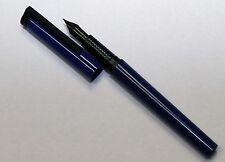 Vintage Sheaffer Delta Grip Fountain Pen Black Trim & Nib - Used Free UK Postage