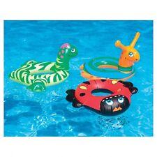NEW Swimline Animal Ring 9025 Kids 2+ Floaties Learn to Swim Snail Dino Lady Bug