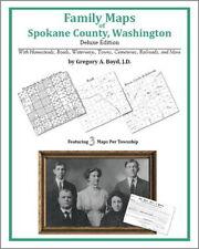 Family Maps Spokane County Washington Genealogy WA Plat