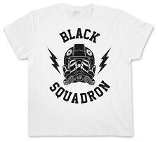 BLACK SQUADRON VINTAGE I T-SHIRT - Star Tie Pilot Imperial Wars Interceptor Saga