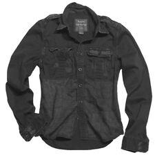 SURPLUS Camicia uomo militare 1/1 RAW VINTAGE SHIRT Black