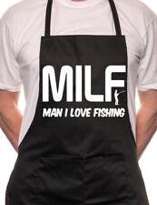 MILF Man I Love Fishing 40 BBQ Cooking Funny Novelty Apron