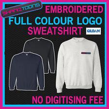 X3 workwear business brodé Sweat full colour numérisé logo