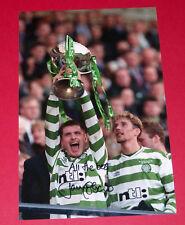 Tommy johnson celtique main signé autographe photo 12X8