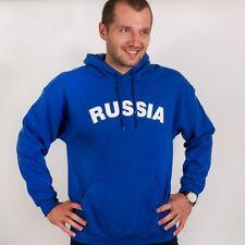 Warm Thermal Russian Sweatshirt Blue Hoodie (Tolstovka RUSSIA )