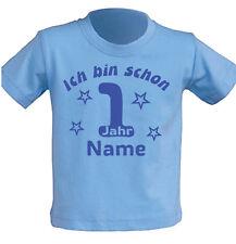 Kinder T-Shirt erster Geburtstag 1 jahr alt Junge Mädchen Party Feier Geschenk