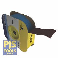 SIA Abrasivos de 50mm de ancho x 25m Rollo de óxido de aluminio los ingenieros de cinta de tela esmeril