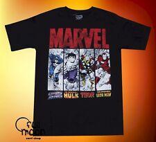 New Marvel Comics Thor Iron Man Hulk X-Men Classic Mens Vintage T-Shirt