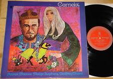 CAMELOT ~ PATRICK MACNEE ~ VERY RARE UK WORLD RECORD CLUB LP ~ THE AVENGERS