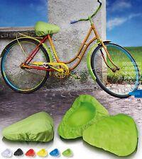 Copri sella impermeabile in nylon  coprisella da bicicletta city bike