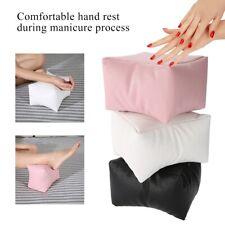 Nail Art Table Hand Foot Pillow Soft PU Arm Rest Salon Manicure Cushion Holder