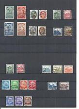 Deutsches Reich 1924 - 1932, verschiedene komplette Sätze ex MiNrn: 351 - 495 o