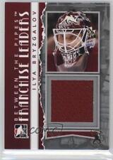 2010-11 In the Game Between Pipes #FL-23 IIya Bryzgalov Rookie Hockey Card