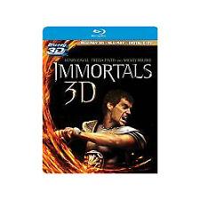 Blu-ray 3D/DVD: Immortals (+ Digital Copy, 2012, 3-Disc Set, Canadian; 3D) New