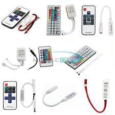 3/10/24/44 Keys IR Remote Controller For 3528 5050 RGB LED Strip Light 12V MF