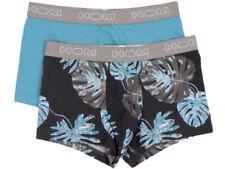HOM Boxerline - Lot de 2 Lot HO1 Boxer Palm - Turquoise