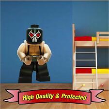 Lego Bane Batman Villain Wall Printed Vinyl Sticker Decal Childrens Bedroom Boys