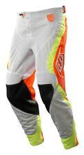 Troy Lee Designs White/Orange SE Pro Corse Pants Dirt Bike 2015 MX Gear
