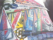 HOCKEY PENNANTS (NHL) NEW ON SALE TAKE A LOOK