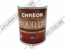 CHREON - WOOD LIFE HYDRO IMPREGNANTE CERATO - TINTE CARTELLA - 0,750 lt - ACQUA