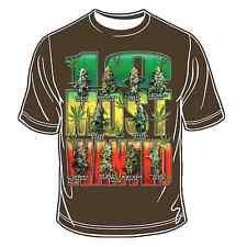 Ten Most Wanted T-Shirt Hippie Bobo Root Rasta Reggae Africa Marley Jamaica JAH