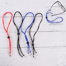 sport eyeglass sunglasses cotton neck string cord strap eyewear holder rope new.