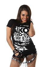 "Officiel tna knockouts Ko's ""larme"" impact wrestling Mesdames t-shirt"
