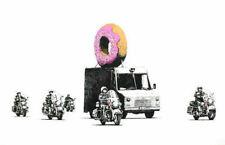 248103 Banksy Street Donut Art WALL PRINT POSTER FR