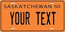 Saskatchewan 1950 License Plate Personalized Custom Car Bike Motorcycle Moped