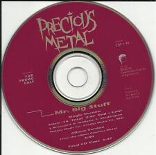 PRECIOUS METAL Mr. Big Stuff PROMO CD Jean Knight TRK