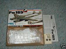 Airfix  MPC 1/72 Fw 189 Flying Eye  plus crew