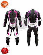 MOTOGP COURSE combinaison cuir violet revêtement moto personnalisé votre costume