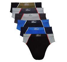 Herren Slips Sportslips Unterhose Baumwolle Slip Gr.5-10 S-3XL A560 6-18-er Pack