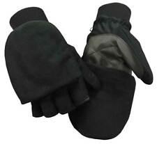 Northstar Unisex Waterproof Thinsulate Flip Top Convertible Gloves, Black. 503BK