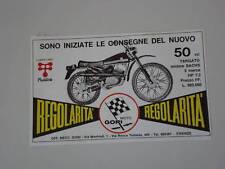 advertising Pubblicità 1972 MOTO GORI 50