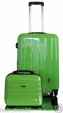 Kombi Set 60cm POLYCARBON  Hartschale Trolley Koffer Trolly Beautycase  LONDON