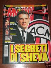 FORZA MILAN 2001/5 POSTER SQUADRA ROSA AL COMPLETO  BERLUSCONI SHEVCHENKO