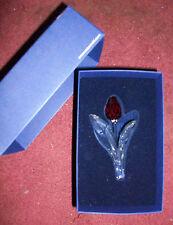 SWAROVSKI 2003 RED TULIP SCS RENEWAL GIFT RETIRED